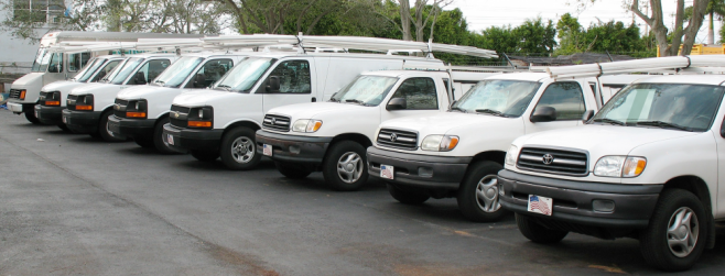 our Plumbers in Redmond have a fully stocked fleet ready and waiting