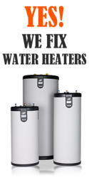 yes! we fix water heaters